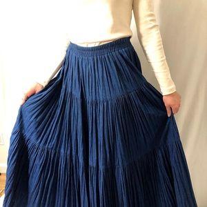 On the Verge | Unique Vintage Denim Skirt